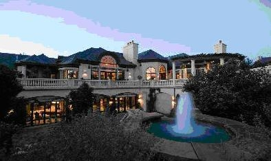 Luxury home of Denver rich and famous